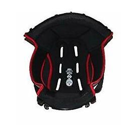 Interiér helmy Nolan N87 Black-Red, L, XL, 2XL