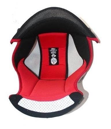 Interiér helmy Nolan N86 Red, M