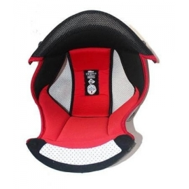 Interiér helmy Nolan N86 Red, 2XL