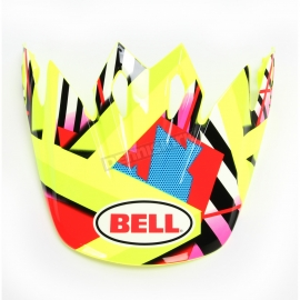 Štít Bell pro moto helmu MX-9 Tagger Double Trouble Hi-Viz