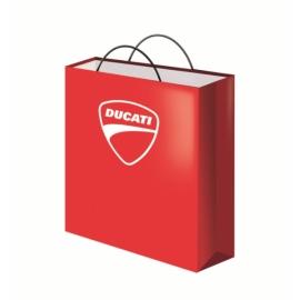 Papírová taška Ducati červená 42x32x13 cm