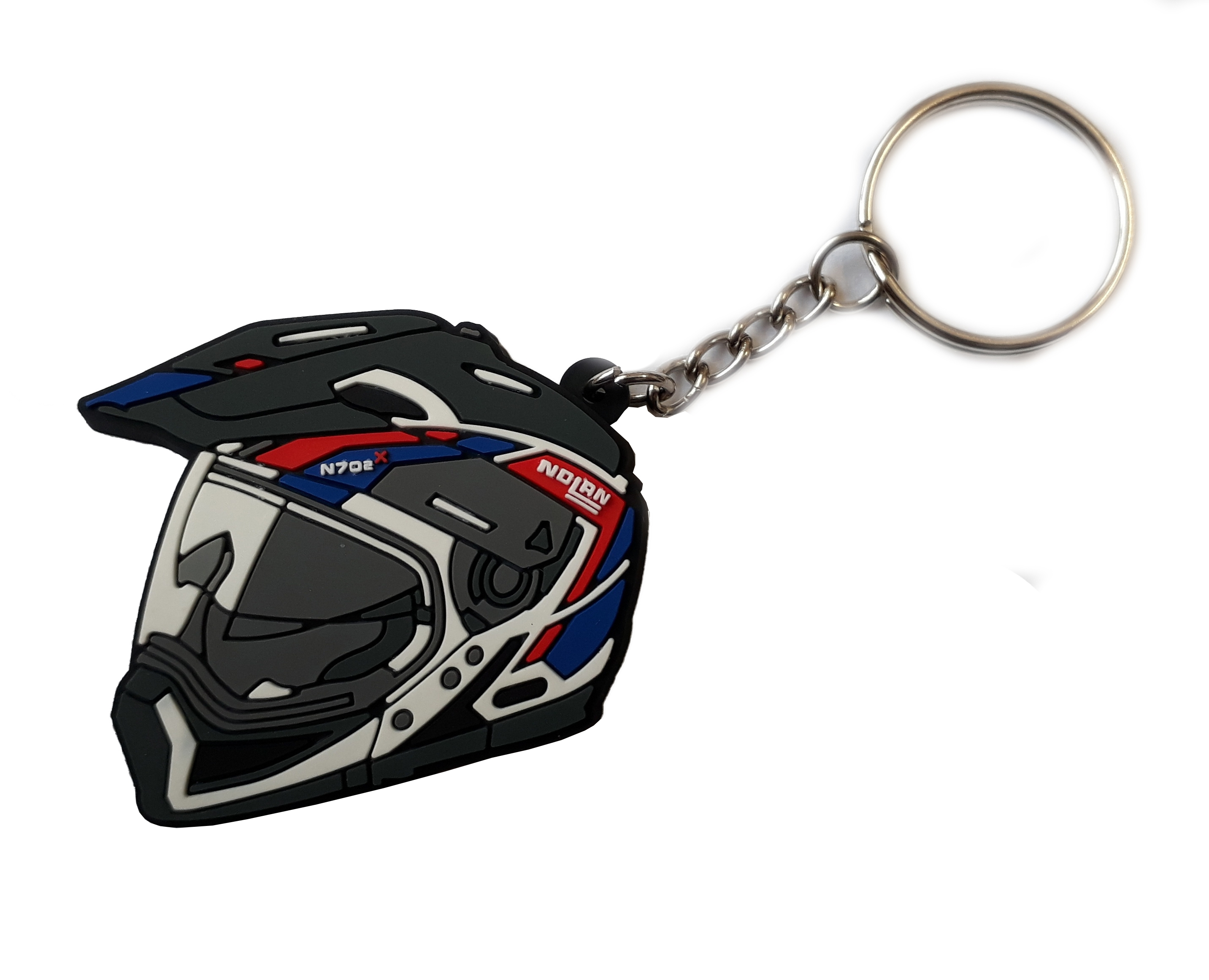 Klíčenka s motivem helmy Nolan N70-2x