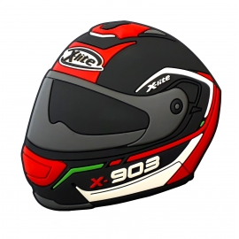 Magnetka X-Lite s motivem helmy X-903
