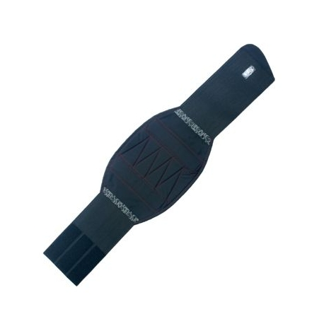 Ledvninový pás Restless Stretch, černý