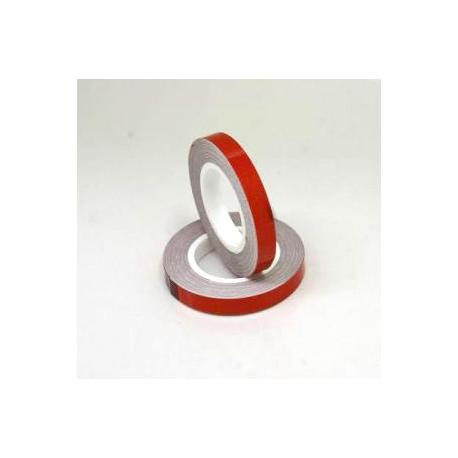 Proužky na kola s aplikátorem reflexní červená