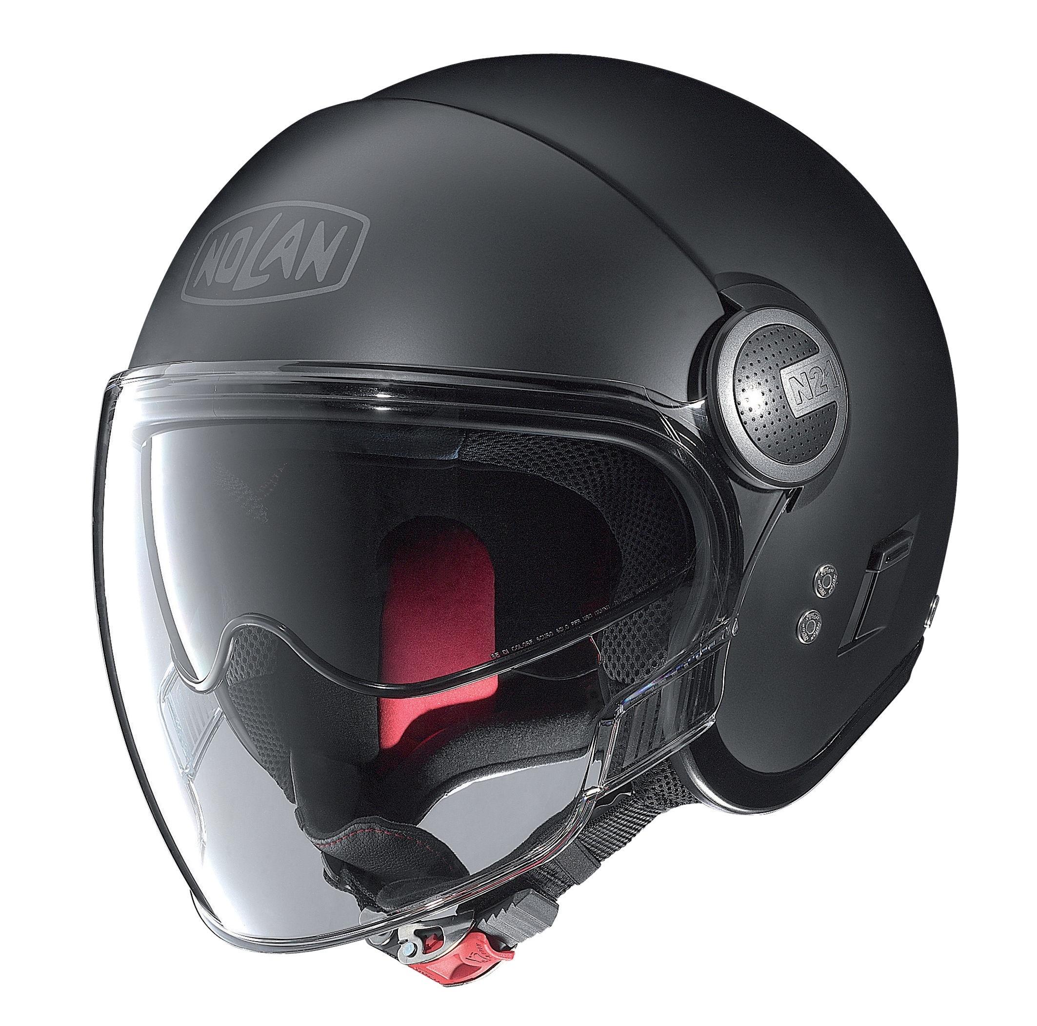 Moto helma Nolan N21 Visor Classic Flat Black 10
