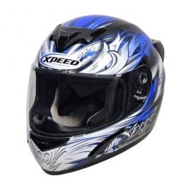 Moto helma Xpeed XP 509, modrá