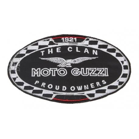 Nášivka Moto Guzzi 1921The Clan Proud Owners, černá