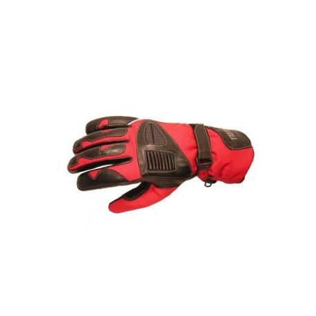 Pánské textilní moto rukavice Spark Master, červené