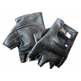 Moto rukavice Bikersmode bezprsté, černé