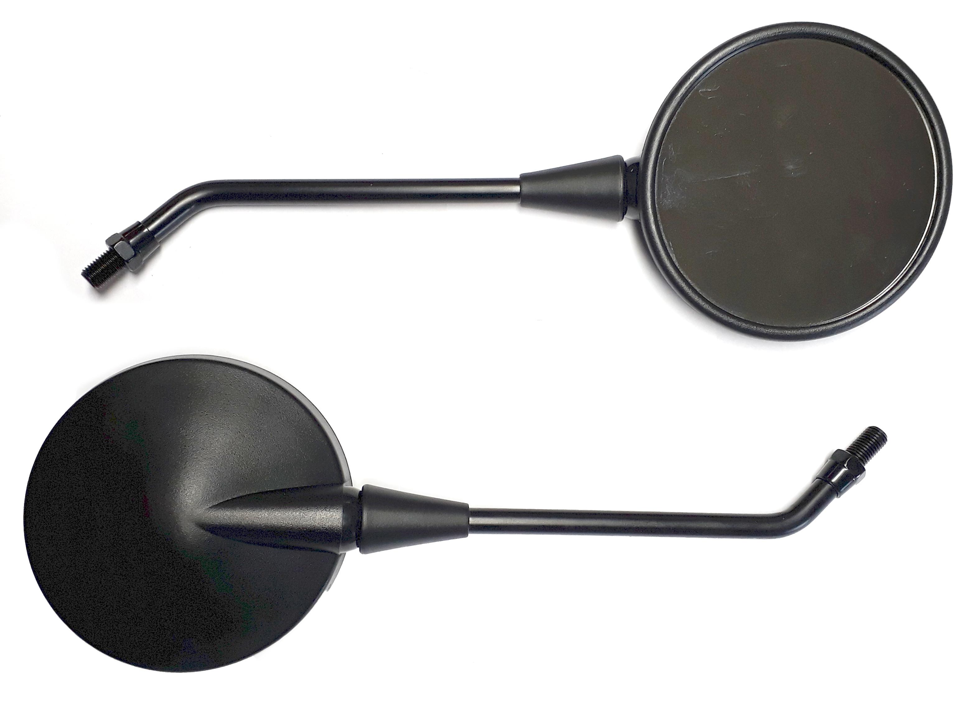 Zrcátka TechStar univerzální kulaté, černé