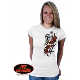 Dámské tričko Eagle Glittre Head, bílé
