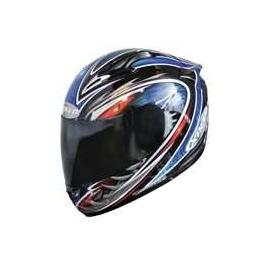 Moto helma Xpeed XF 706 Phoenix, modrá