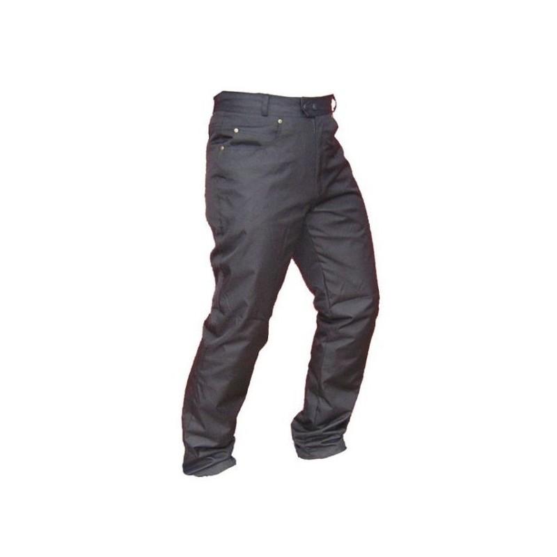 Pánské džínové moto kalhoty SPARK JEANS, černé matné