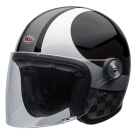 Moto helma Bell Riot Checkers Black