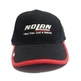 Kšiltovka Nolan černá, originál