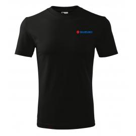Pánské tričko Suzuki, černé