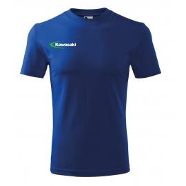 Pánské tričko Kawasaki, modré