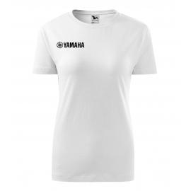 Dámské tričko Yamaha, bílé