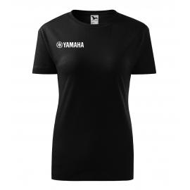 Dámské tričko Yamaha, černé