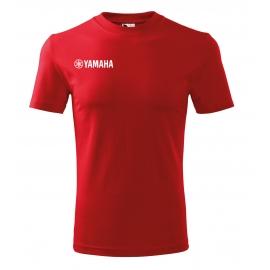Pánské tričko Yamaha, červené