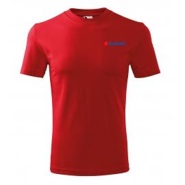 Pánské tričko Suzuki, červené