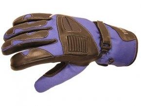 Pánské textilní moto rukavice SPARK MASTER, modré