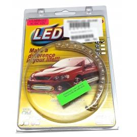 Svítící LED pásek zeleně, 24 cm