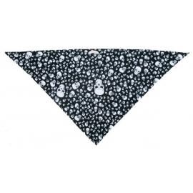 Třícípý šátek motiv Malé lebky