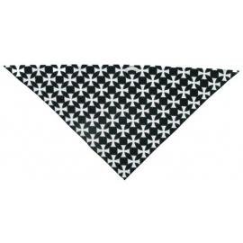 Třícípý šátek motiv Maltézské kříže