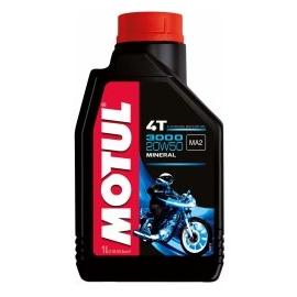 Minerální motorový olej MOTUL 3000 4T 20W50, 1L