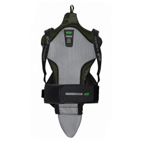 Páteřový moto CE chránič Held SAKARI černo-zelený