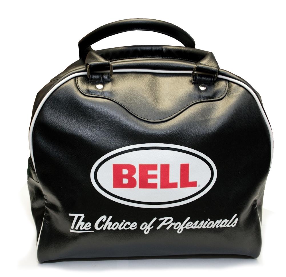 Kožená taška BELL na moto helmu
