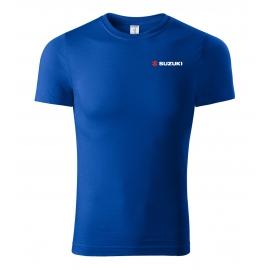 Pánské tričko Suzuki, modré