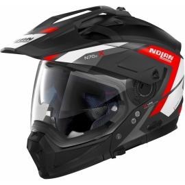 Moto helma Nolan N70-2 X Grandes Alpes N-Com Flat Black 20