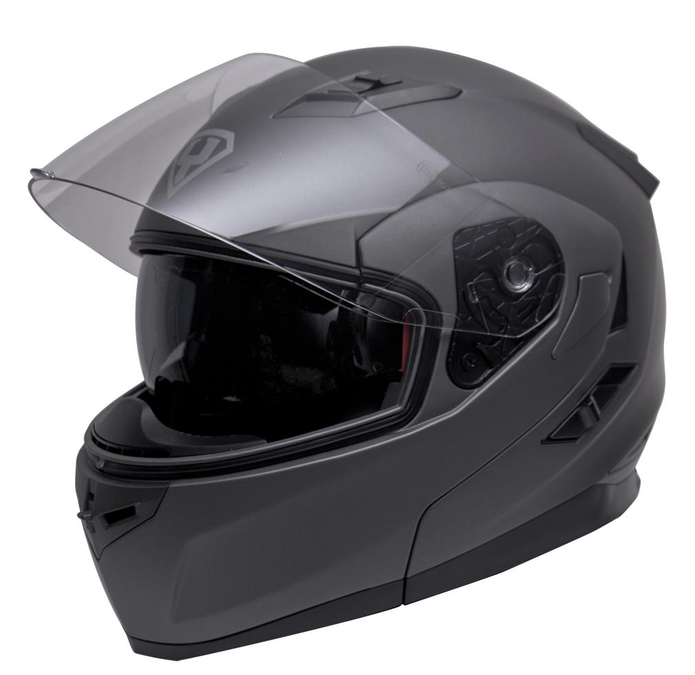 Moto helma Yohe 953, Grey