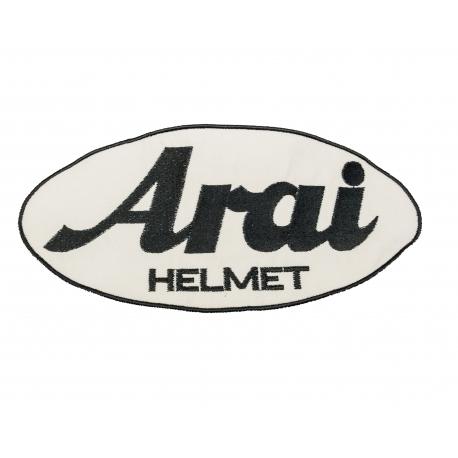 Velká nášivka, logo Arai