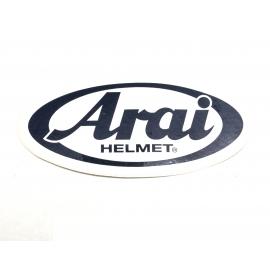 Samolepka logo Arai, bílá