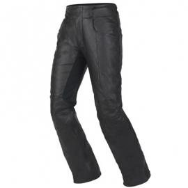 Dámské kožené moto kalhoty Dainese V-TWIN, černé