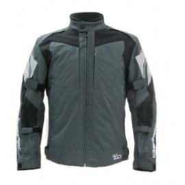 Cestovní textilní moto bunda Berik NJ-10393, black
