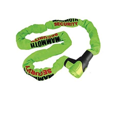 Řetězový zámek Mammoth 10 mm, Green