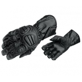 Pánské kožené moto rukavice Spark Allround, černé