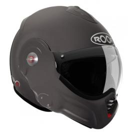 Moto helma Roof Desmo, graphite matná