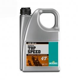 Motorový olej Motorex Top Speed 4T 15W50, 4L