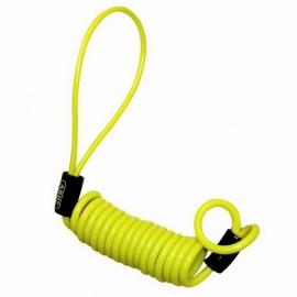 Připomínač zámku Abus Memory Cable, Yellow