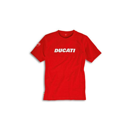 Pánské tričko Ducati Ducatiana červené, originál