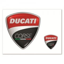 Samolepky Ducati Corse, originál