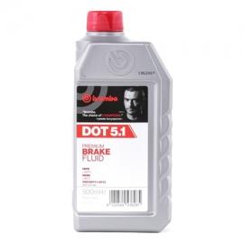 Brzdová kapalina Brembo DOT5.1, 500 ml