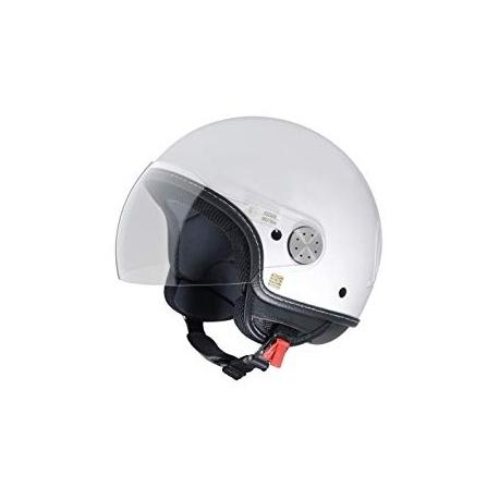 Moto helma Vespa Visor 2.0, bílá
