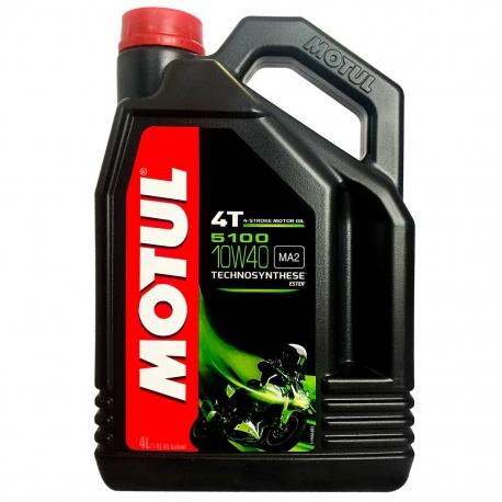 Motorový olej Motul 5100 4T 10W40, 4L